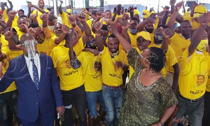 200 NUP Supporters Defect to NRM – The NileWires